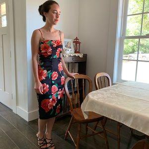 XSCAPE Floral Dress, Size 6